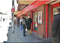 TG2309 : 77-87 Magdalen Street - queueing at Roys by Evelyn Simak