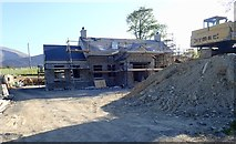 J3532 : House under construction on Middle Tollymore Road by Eric Jones
