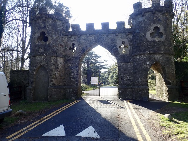 The Barbican Gate barred to motor vehicles