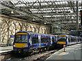 NT2573 : Edinburgh Waverley, Turbostars by Stephen Craven