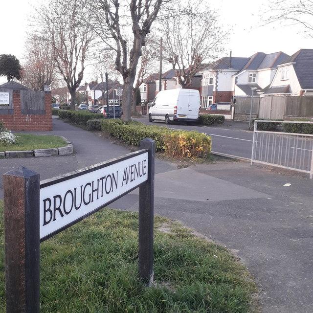 Northbourne: Broughton Avenue