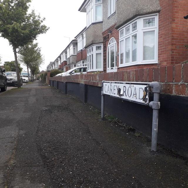 Moordown: Carey Road
