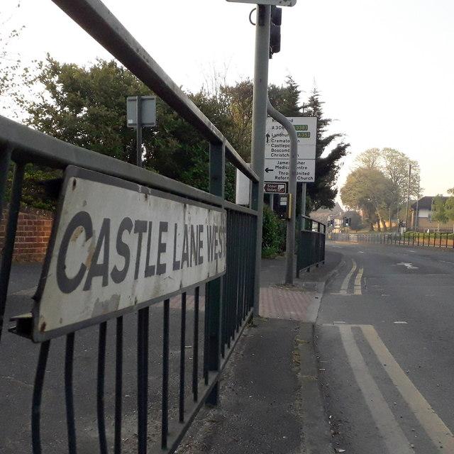 Redhill: Castle Lane West