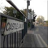 SZ0995 : Redhill: Castle Lane West by Chris Downer