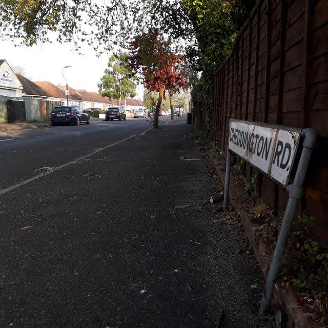 Muscliff: Cheddington Road