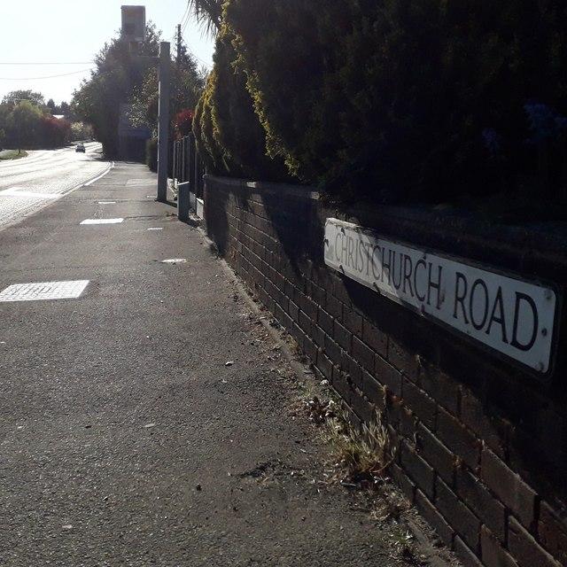 West Parley: Christchurch Road