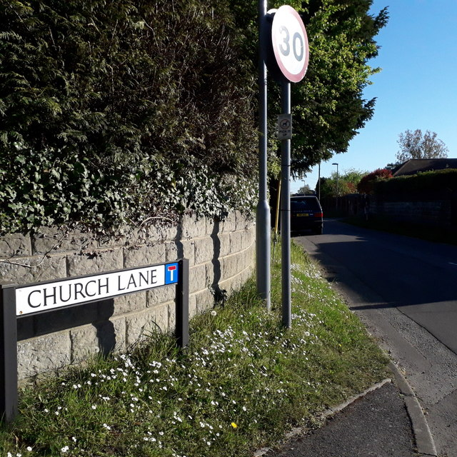 West Parley: Church Lane