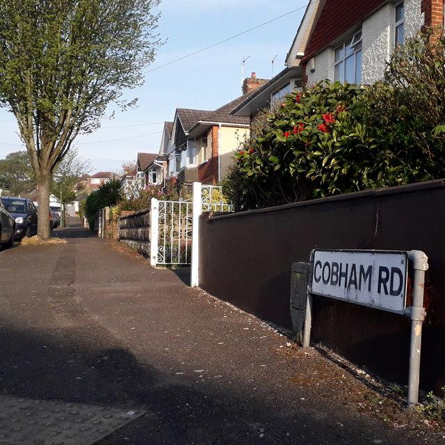 Moordown: Cobham Road