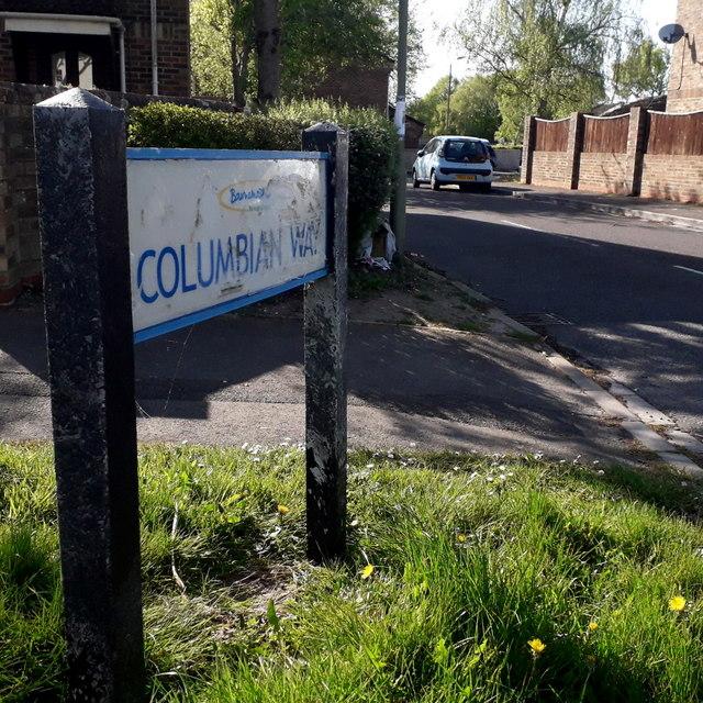 Ensbury Park: Columbian Way