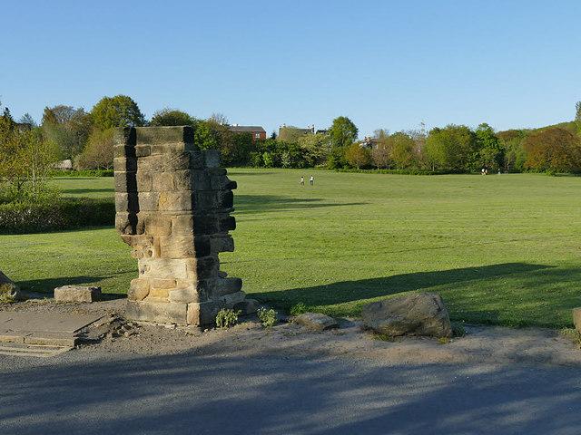 Vesper shadows, Kirkstall Abbey Park