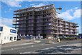 SX4654 : Flats under construction by Millbay Docks by Hugh Venables