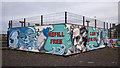 J5182 : Mural, Bangor by Rossographer