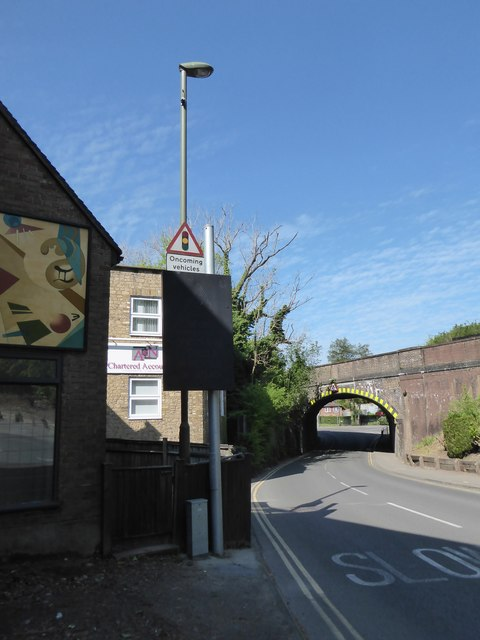 Railway bridge in Lower Street