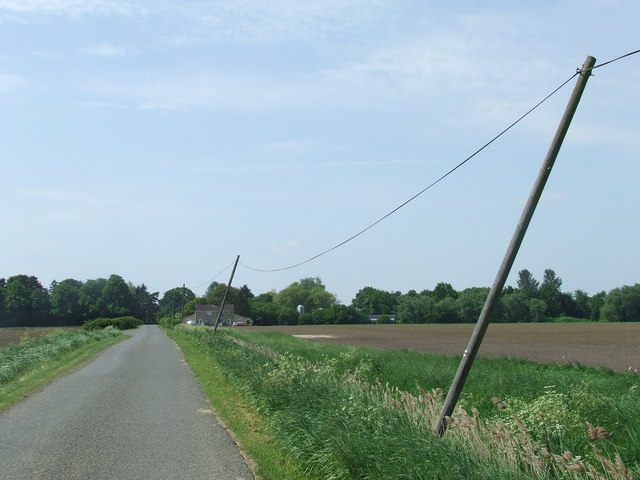 The Leaning Poles Of Barway