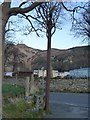 SH7377 : Stench pipe on Glan-y-Mor Road, Dwygyfylchi by Meirion