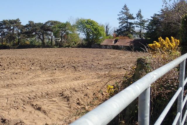 Derelict farm building off Wild Forest Lane