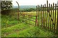 SO6288 : Gate in fence, RNAD Ditton Priors by Derek Harper