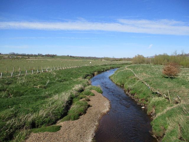 Avon Water from Ryeland Bridge