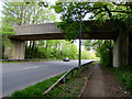 ST2992 : South side of a bridge over the A4051, Llantarnam, Cwmbran by Jaggery