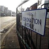 SZ0894 : Moordown: Coronation Avenue by Chris Downer