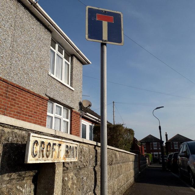 Moordown: Croft Road