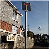 SZ0894 : Moordown: Croft Road by Chris Downer