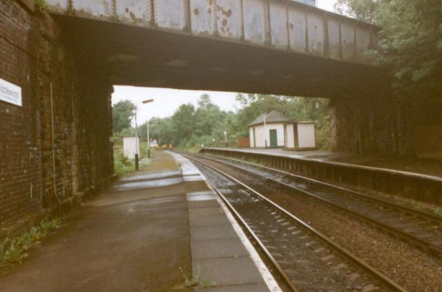 Track maintenance at Middlewood