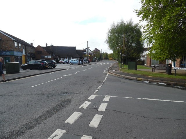Chequers Parade and Wycombe Road, Prestwood