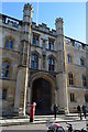 TL4458 : Corpus Christi College gateway by N Chadwick