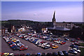 SK3871 : Chesterfield - Holywell Cross Car Park & view to parish church by Colin Park