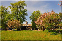 ST8080 : St Mary's Church, Acton Turville, Gloucestershire 2020 by Ray Bird