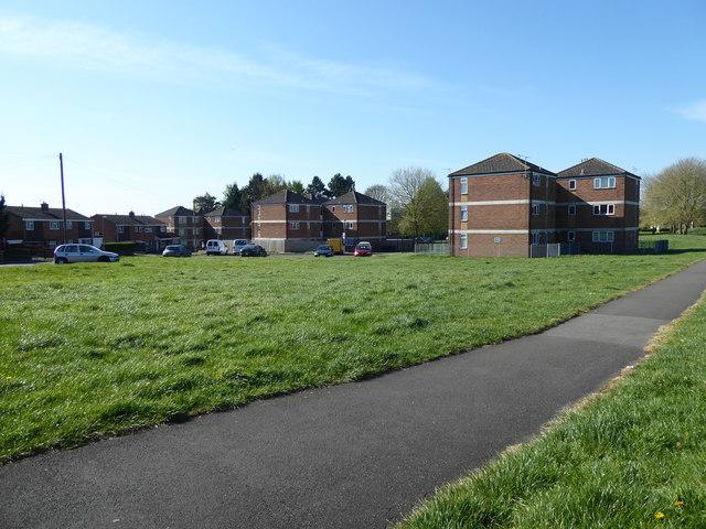 Council flats, The Circle, Pinehurst