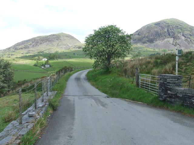 Footpath Off Minor Road