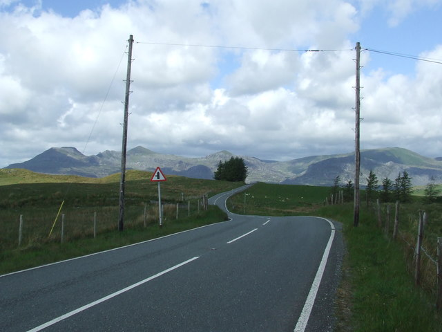 View From The B4391