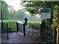 SK3384 : Entrance to Chelsea Park by Graham Hogg