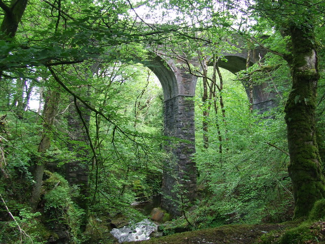 Disused Viaduct Over The Afon Cynfal