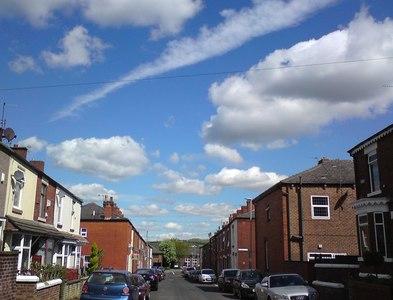 SJ9594 : Haughton Street by Gerald England