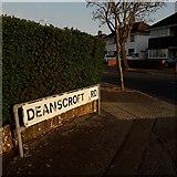 SZ0895 : Northbourne: Deanscroft Road by Chris Downer