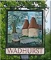 TQ6331 : Wadhurst Village Sign by John P Reeves