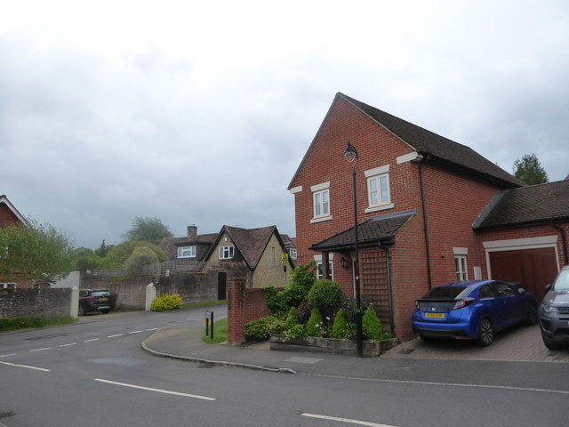 Junction of Kiln Avenue and Weycombe Road