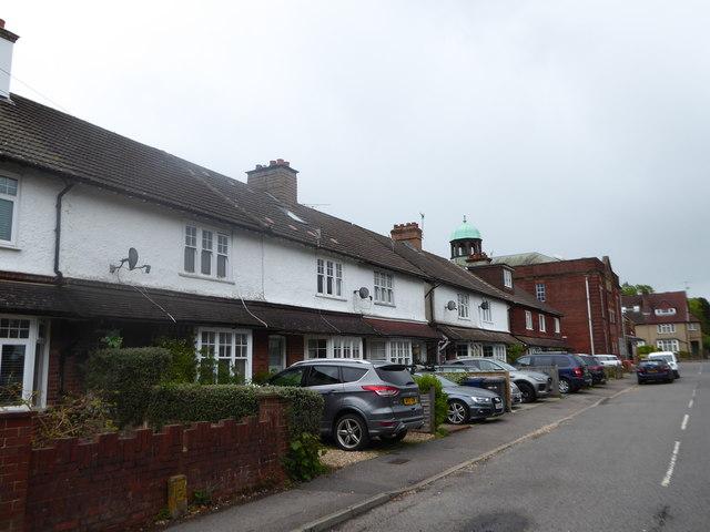 Houses in Bridge Road