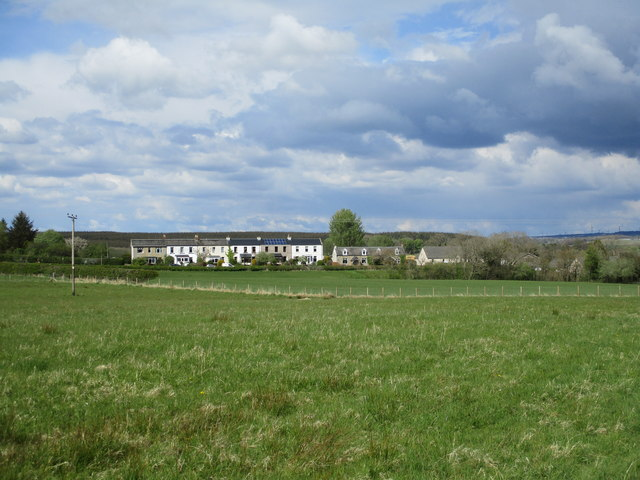 Houses at Tillietudlem