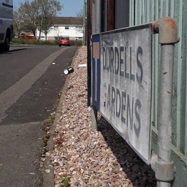 Kinson: Durdells Gardens