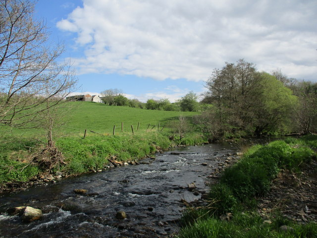 River Nethan at Cannonholm