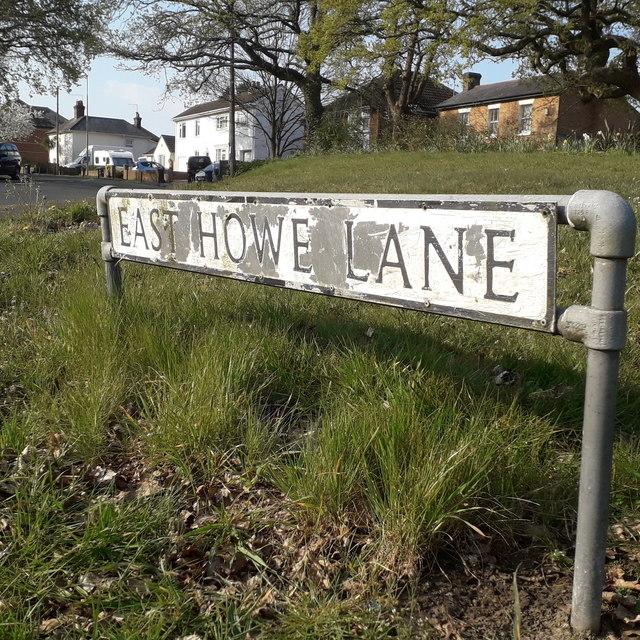 East Howe: East Howe Lane