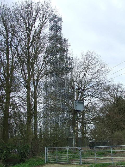 Henham Microwave Tower