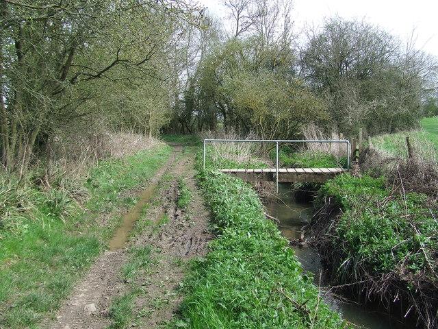 Footbridge Over The River Cam