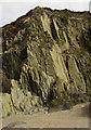 SX6643 : Cliff south of Bantham Sand by Derek Harper