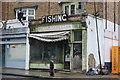 TQ2885 : Sharps Fishing Tackle on Malden Road by David Howard