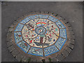 SE2535 : Victoria Park Garden: mosaic by Stephen Craven